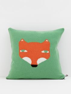 Fox pillow.