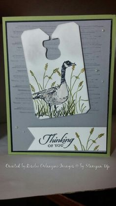 Stampin' Up Wetlands and Gorgeous Grunge Masculine card with masking technique Smoky slate, old olive, delightful dijon, memento tuxedo black, basic grey Chalk talk bundle stamp set and framelits, triple banner punch, pearls, dimensionals