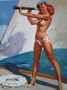 I want to be a lady pirate & sail the 7 seas.