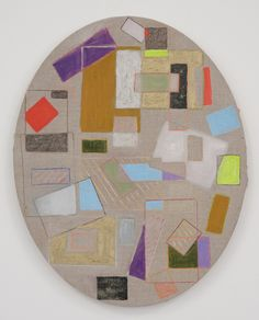 Mari Eastman   My Architect   2011   Prismacolor, oil and glitter on canvas   20 x 16 inches, 50.8 x 40.64 centimeters