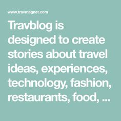 Travblog is designed to create stories about travel ideas, experiences, technology, fashion, restaurants, food, transportation, tips and tricks and other travel related information that could help people discover new concepts about traveling. Helping People, Philippines, Concept, Technology, Create, Tips, Blog, Travel Ideas, Transportation