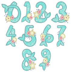 Mermaid Applique Numbers for all you under the sea lovers! Mermaid Theme Birthday, Little Mermaid Birthday, Little Mermaid Parties, The Little Mermaid, Blonde Halloween Costumes, Native American Halloween Costume, Couple Halloween Costumes For Adults, Couple Costumes, Adult Costumes