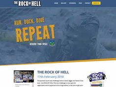 Located in the countryside of North Wexford - The Rock of Hell is one of the biggest mud run / obstacle courses of the year - held on the February 2018 - Sold out last year, it's time to reserve your spot now, on: Obstacle Courses, Mud Run, Register Online, Fun Challenges, The Rock, Countryside, Hold On, 18th, February