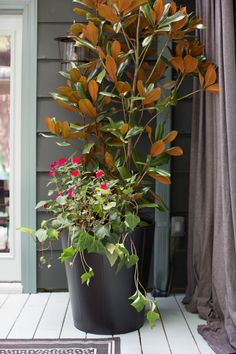 Fall Porch Decorating Ideas   Entertaining Ideas & Party Themes for Every Occasion   HGTV
