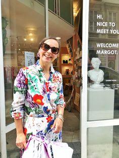 A héten a Konfetti&Co megálmodója Eöttevényi Zsófi dekoratőr a Gardróbnapló vendége Lily Pulitzer, Glamour, Blazer, Jackets, Dresses, Fashion, Down Jackets, Gowns, Moda