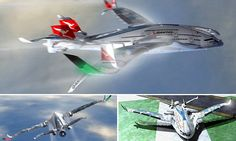 Flight in 2030: Super quiet Progress Eagle concept plane has 3 decks
