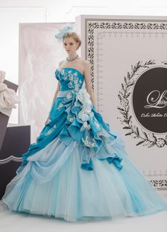 such a dream Lovely Dresses, Beautiful Gowns, Elegant Dresses, Fairytale Dress, Fairy Dress, Ball Gown Dresses, Evening Dresses, Fantasy Gowns, Colored Wedding Dresses
