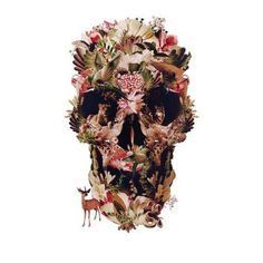 Tattify Rain Forest Hidden Skull Temporary Tattoo - Jungle Fever (Set of 2)