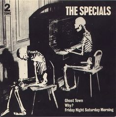 The Specials last single - Ghost Town (June 1981)- number one for weeks,the sound of the summer of english riots