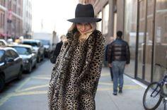 leopard prints street style