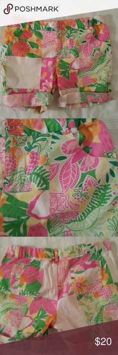 ☆SALE☆  Lilly Pulitzer Girls Shorts Super cute shorts in excellent condition Lilly Pulitzer Bottoms Shorts