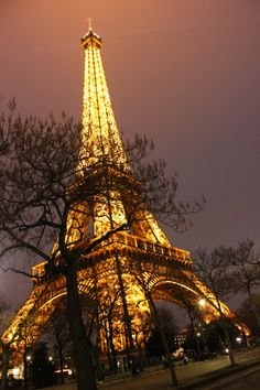 Paris... city of lights!