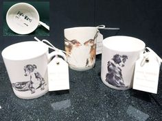 Hare, Collie, Greyhound mugs