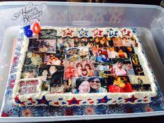 Birthday Cake With Family Photos. https://www.facebook.com/CakeDivaDenise