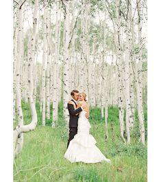 Birch Tree Wedding Ideas ~ we ♥ this! moncheribridals.com