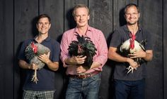 The Beekman Boys, P. Allen Smith and feathered friends