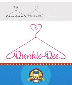 Logo Development for Dienkie Dee - A cute and creative clothing range for toddlers.