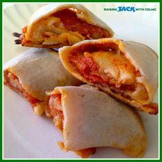 #GlutenFree Pizza Roll-Ups