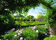 Jardins de Ripley Castle, Ripley, à Harrogate, dans le nord-Yorkshire