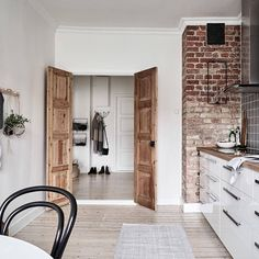 "10.7k Likes, 49 Comments - NORDIK SPACE (@nordikspace) on Instagram: ""Gorgeously styled kitchen. via @stadshem #scandinavian #interior #homedecor #simplicity #whiteliving"""