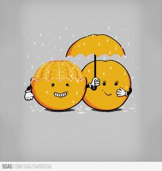Funny pictures about Pure orange love. Oh, and cool pics about Pure orange love. Also, Pure orange love. Cute Puns, Funny Puns, Funny Cartoons, Funny Comics, Funny Doodles, Cute Doodles, Doodles Bonitos, Picture Blog, Cute Cartoon Drawings