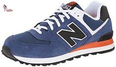 New Balance Nbml574moy, New Balance ML 574 MOY Blue Black 42.5 homme, Bleu (Blue), 42.5 EU - Chaussures new balance (*Partner-Link)