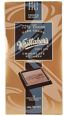 Dark Ghana Chocolate Squares – Whittaker's - 168g | Shop New Zealand