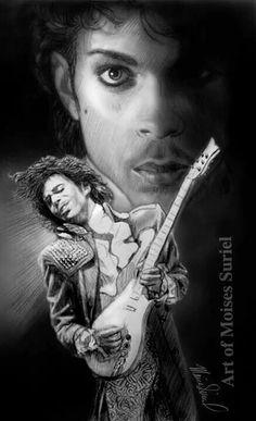 Beautiful art of Prince