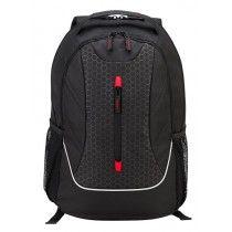 """Targus - Backpack Ascend 16"""" - Negro/Rojo"""