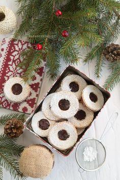 Mirabelkowy blog: Kruche ciasteczka z dżemem