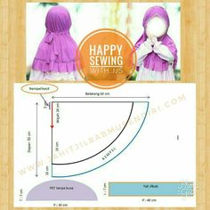Ideas Sewing Headbands Tutorial Girls For 2019 Sewing Patterns Girls, Sewing For Kids, Baby Sewing, Headband Tutorial, Hijab Tutorial, Dresses Kids Girl, Kids Outfits, Abaya Pattern, Cape Pattern