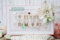 Love You Forever Card by Melissa Phillips for Papertrey Ink (December 2014)