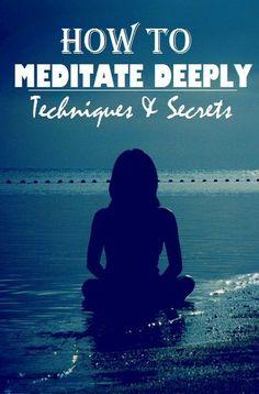 How to Meditate Deeply  #kombuchaguru #meditation Also check out: http://kombuchaguru.com