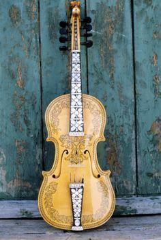 Ornamental Violin. #music #Instruments.