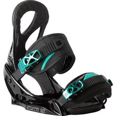 Burton Stiletto EST Snowboard Bindings - These are awesome Freestyle Snowboard, Ski And Snowboard, Snowboard Design, Ski Socks, Sport Socks, Burton Snowboard Bindings, Burton Snowboards, Snowboarding Style, Snow Gear