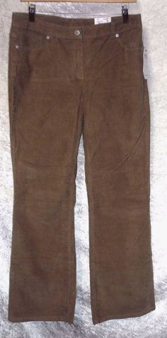 Liz Claiborne Womens Corduroy Pants boot cut solid slender size 10 NEW Corduroy Pants Women, Pants For Women, 10 News, Women's Pants, Liz Claiborne, Slacks, Bermuda Shorts, Size 10, Boots