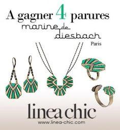 Linea Chic vous offre des parures Marine de Diesbach pour sublimer vos fêtes - Cosmopolitan.fr