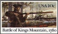 List of patriots (including multiple Montgomerys) | American Revolution: Battle of King's Mountain (1780)