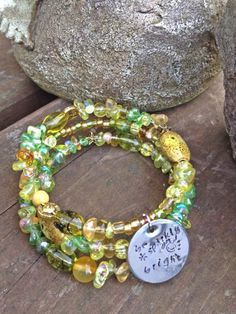 Be Sparkly and Bright three wrap memory wire by DFInspirations, $30.00