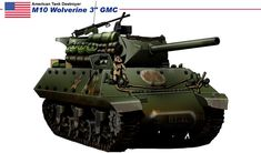 """M10 Wolverines 3"""" Gun Motor Carriage (late production model)"""