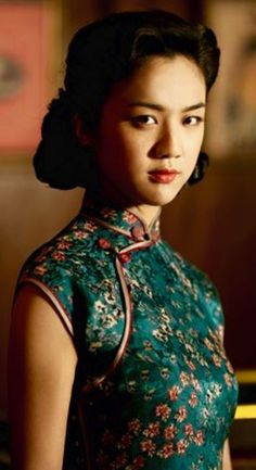 "Tang Wei in period movie ""Lust Caution"""
