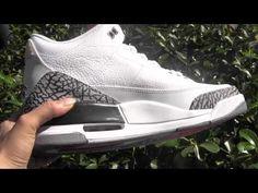*White Cement* Air Jordan 3 Retro Authentic from rephype com