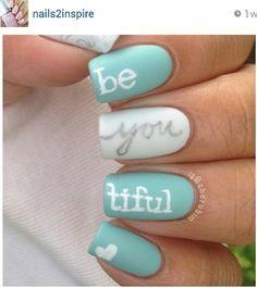 blue bridal nails - Google Search