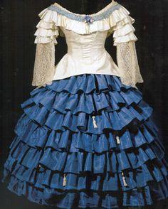 Léon Bakst - Ballets Russes - Costume - Carnaval - Charina - 1910