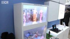 Samsung High Tech See Through Transparent Monitor Screens