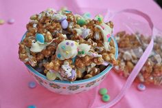This decadent, supersugary treat created by Heather Cristo not only looks cute, but also is seriously addictive. Get all the info on how to create your own candied Easter popcorn here.