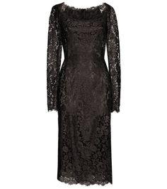 Dolce & Gabbana - Spitzenkleid FS16