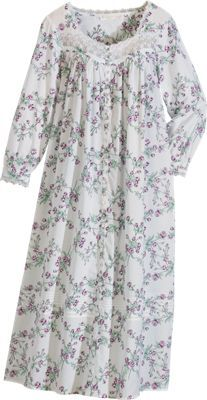 Old Fashioned Floral Pajamas