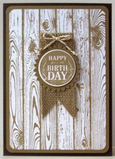 Using Stampin Up hardwood stamp