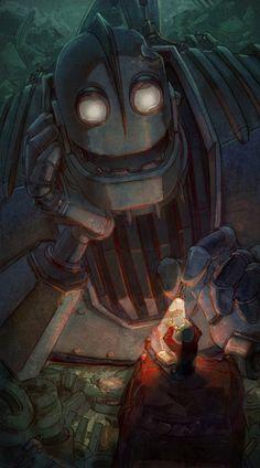 Iron Giant Art Print by Arashi C                                                                                                                                                                                 More